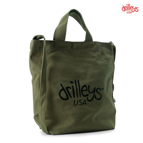 Drilleys Eco Cross Bag Khaki