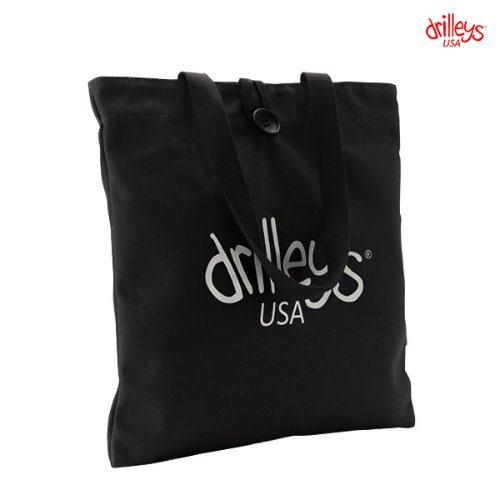 Drilleys Eco Bag Black