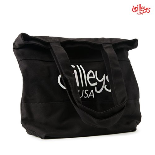 Drilleys Earth Eco Bag Black