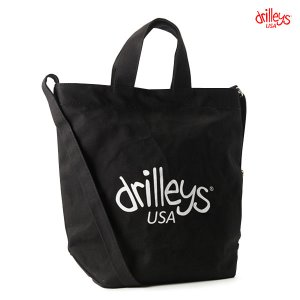 Drilleys Eco Cross Bag Black
