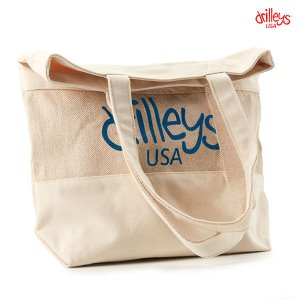 Drilleys Earth Eco Bag Natural Blue