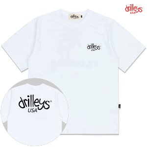 Drilleys Basic White T-shirts