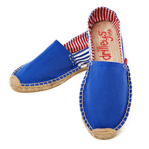 Royal Blue Two Tone Espadrille